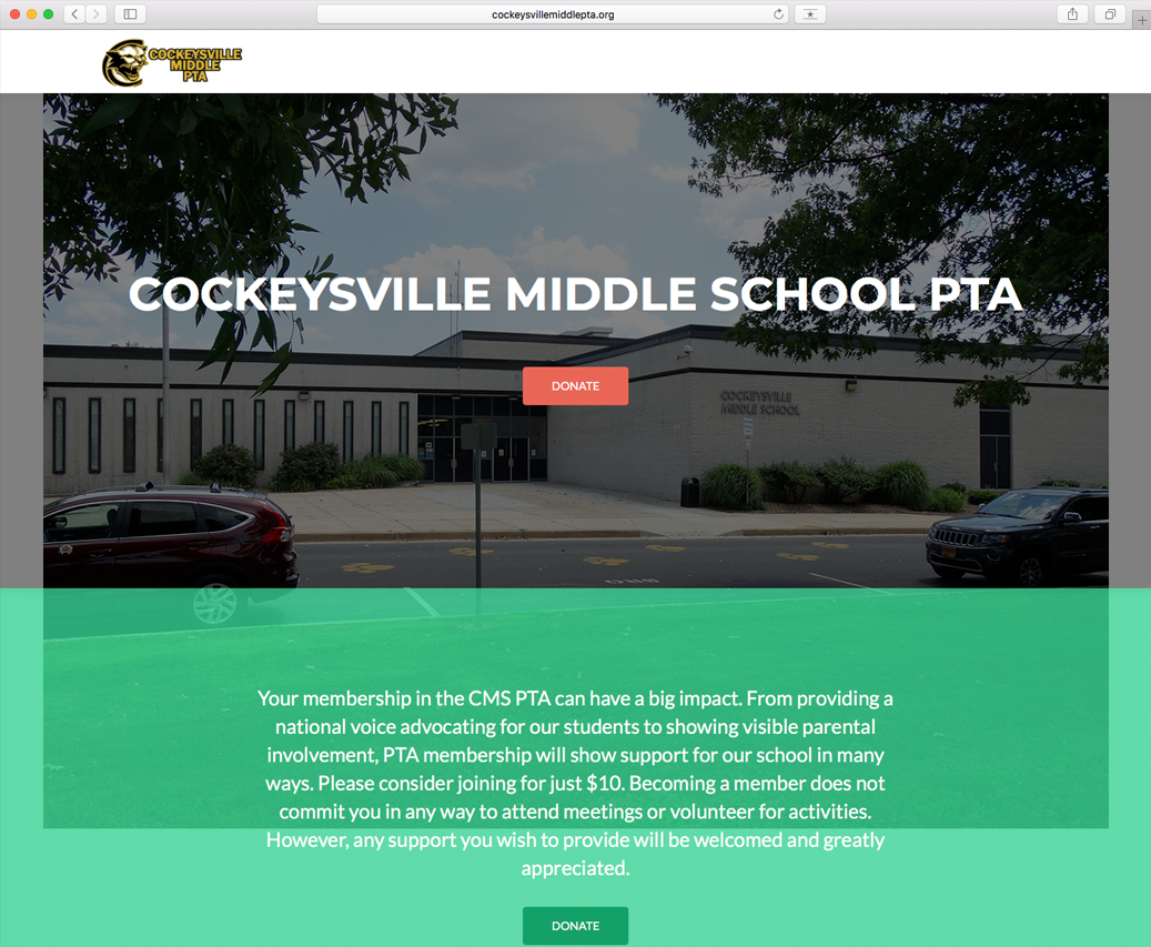 Cockeysville Middle School PTA