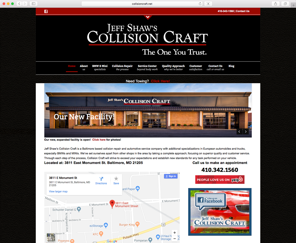 Jeff Shaw's Collision Craft