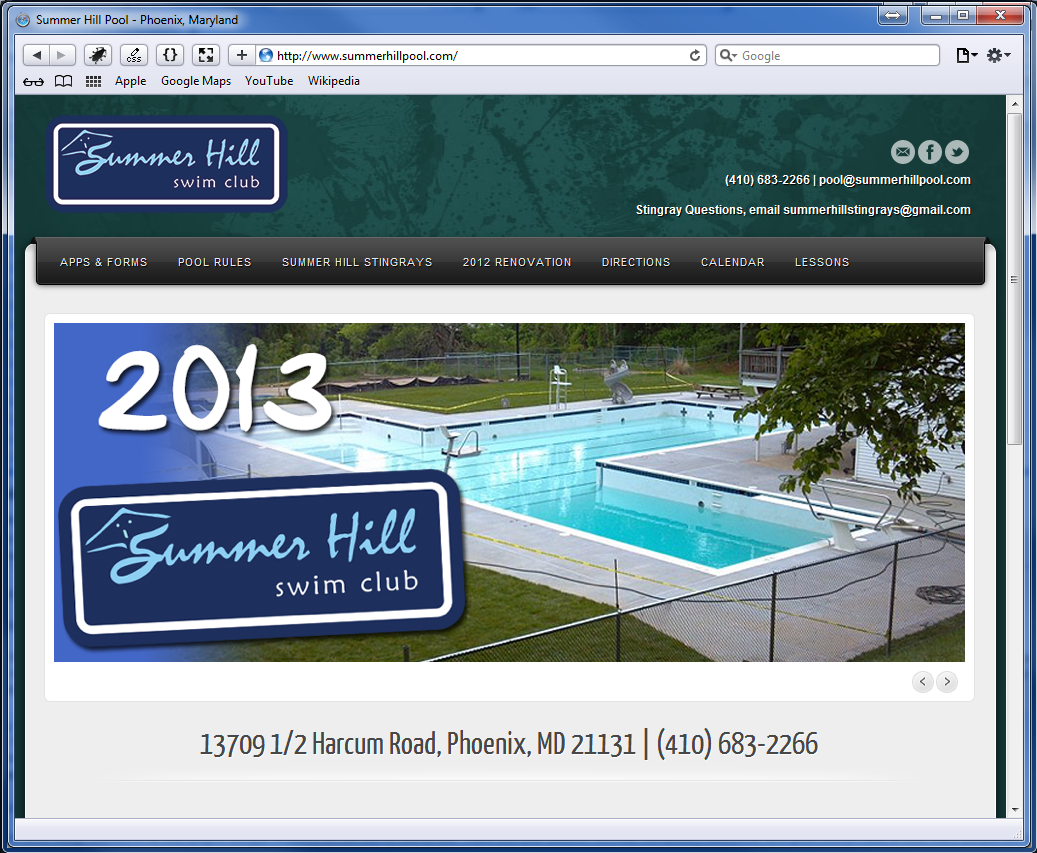 Summer Hill Swim Club (2013)